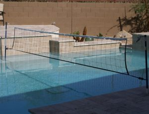 Anaconda Custom Pool Volleyball Net System