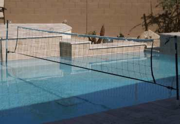 Play Volleyball in Pool with our Anaconda Net System