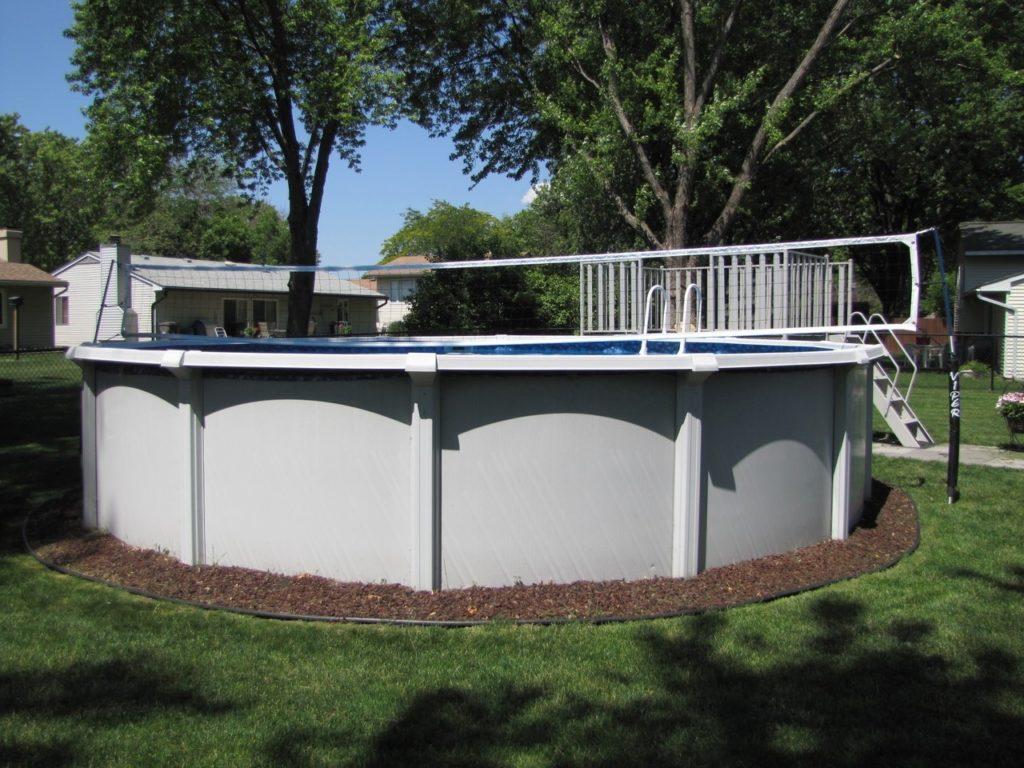 Anaconda Custom Pool Volleyball Net System