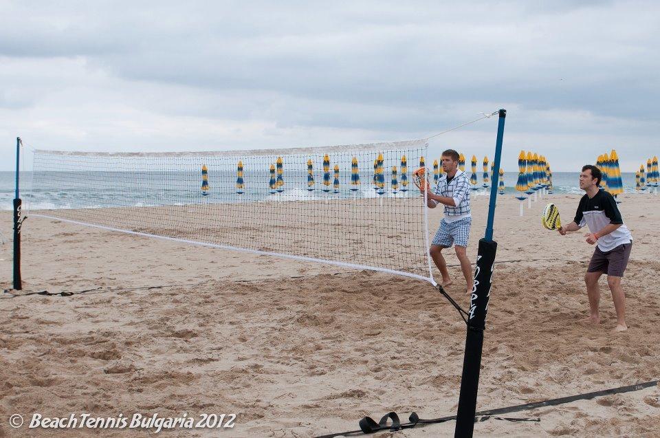 Cobra Beach Tennis Net System – Racquet Version