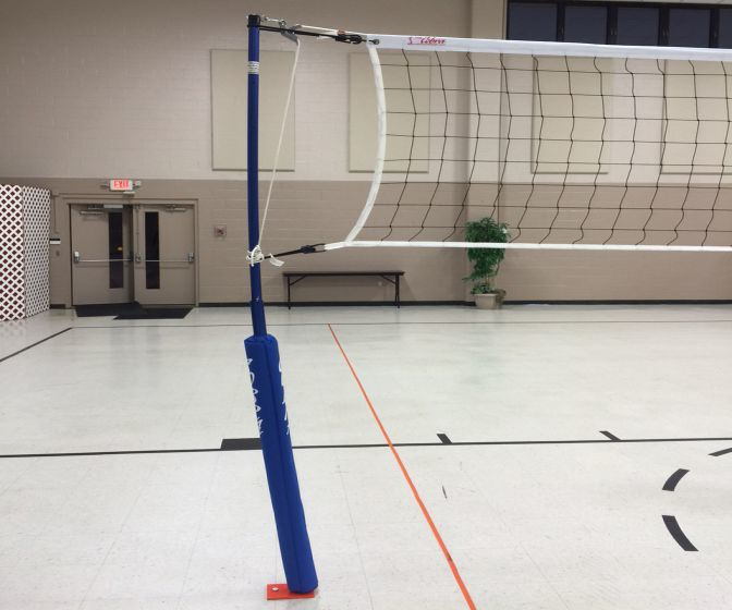 Cobra Indoor Volleyball Net System – Non-Floating Floors