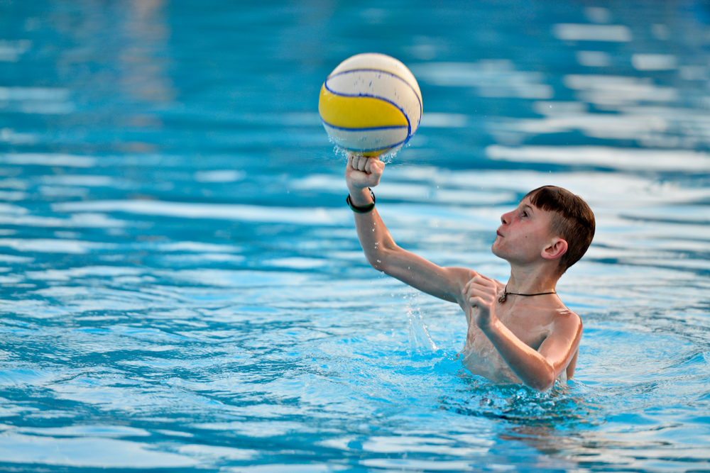 Every Pool Is Better with Pool Volleyball